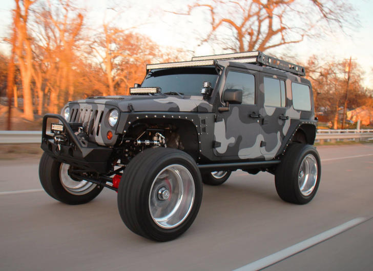 45 Ridiculously Customized Jeeps Wavez